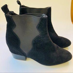ZARA black Chelsea boots